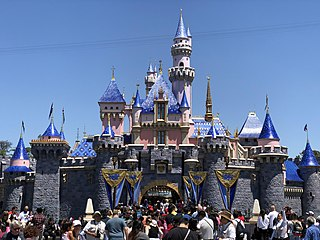 Disneyland American theme park in California owned by The Walt Disney Company