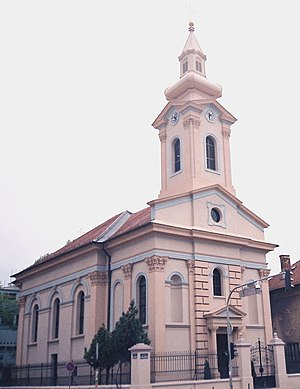 Religion in Serbia - Protestant Evangelical (Slovak) church in Novi Sad