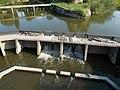 Sluice at the Bridge of Saint John of Nepomuk. - Tata, Hungary.JPG
