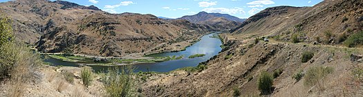 Snake River near Oxbow, Oregon