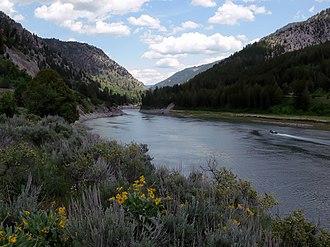 Snake River Canyon (Wyoming) - Snake River near Alpine, Wyoming