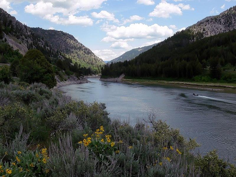 File:Snake River at Alpine, Wyoming.jpg