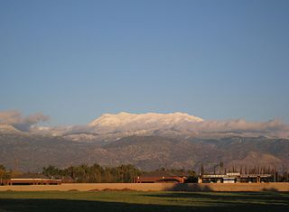 San Jacinto Mountains mountain range in Southern California, USA