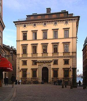 Södra Bankohuset - Western façade of Södra Bankohuset, March 2007.