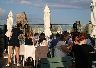Nick Jones (entrepreneur) - The rooftop bar at Soho House in New York