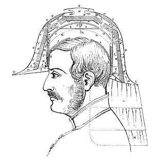 Pith helmet - Design for an army helmet, as worn in British India, 1858.