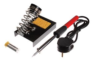 Soldering iron and accessories