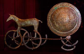 Wetland deposits in Scandinavia - The Trundholm sun chariot was found deposited in wetland