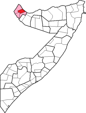 Lughaya District