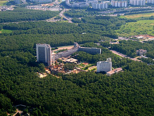 Headquarters of the Russian SVR,  which is being blamed for the hack., From WikimediaPhotos