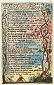 Songs of Innocence and of Experience, copy E, 1789, 1794, 1795, c. 1832 (Henry E. Huntington Library and Art Gallery) object 22-53 The School Boy.jpg