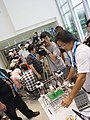 Sony television camera of UBN at COSCUP 20110820.jpg
