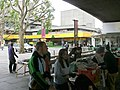 South Bank book market under Waterloo Bridge, London.jpg