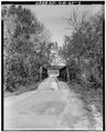 South approach - Gordon County Road 220 Bridge, Spanning Pine Log Creek on County Road 220, Fairmount, Gordon County, GA HAER GA,65-FAIR.V,1-3.tif