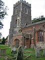 South view of St Mary's church, Little Bentley - geograph.org.uk - 544269.jpg