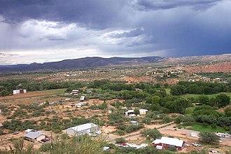 Cornville, Arizona - Image: Southern Cornville 2009 BL