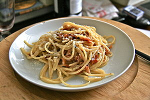 Cookbookspaghetti Alla Carbonara Wikibooks Open Books For An