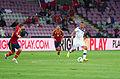 Spain - Chile - 10-09-2013 - Geneva - Sergio Ramos, Francesc Fabregas and Arturo Vidal.jpg