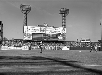 Sportsman's Park - The 1946 World Series at Sportsman's Park.