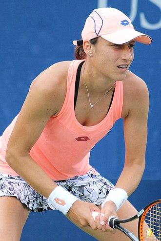 Katarina Srebotnik - Srebotnik at the 2016 US Open