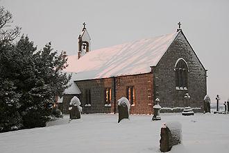 Battle of Heavenfield - St Oswald's Church, Heavenfield
