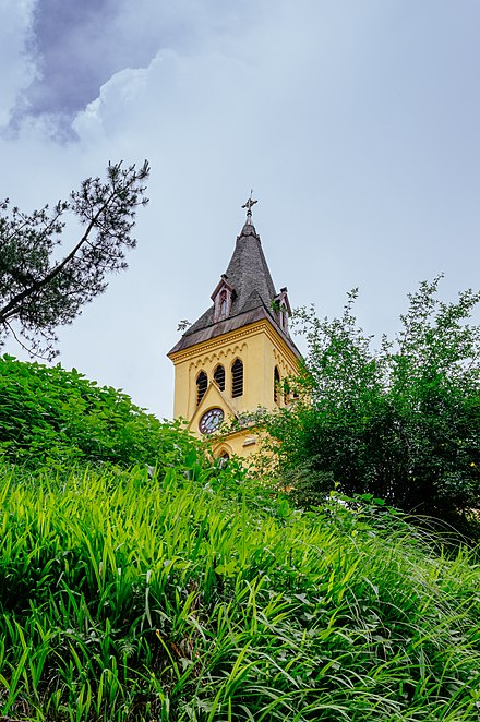 St. Andrew's Church, Darjeeling. Built- 1843, Rebuilt- 1873 St. Andrews Church situated in Darjeeling.jpg