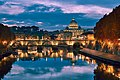 St. Angelo Bridge (Ponte Sant'Angelo) , Rome (39693413911).jpg