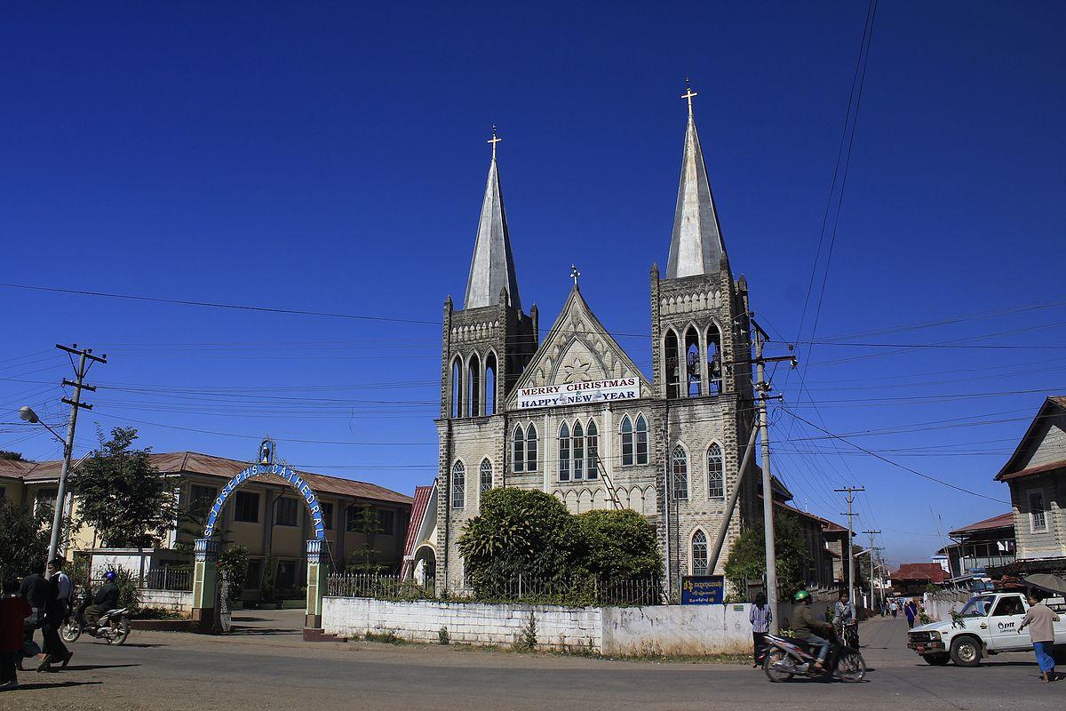 roman catholic archdiocese of taunggyi   wikipedia