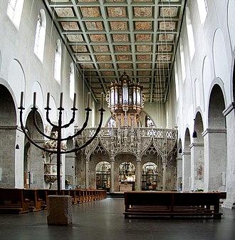 Saint Pantaleon's Church, Cologne - Church of St. Pantaleon, interior