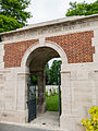 St. Patrick's Cemetery, Loos - Entrance.jpg