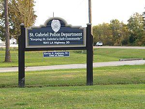 St. Gabriel, Louisiana - St. Gabriel Police Department