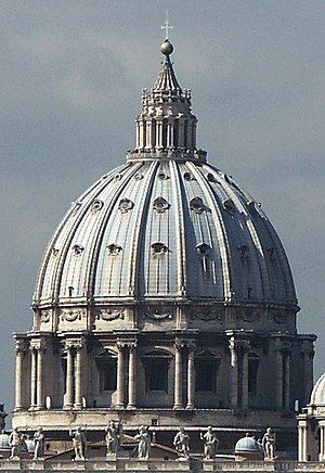 History of Italian Renaissance domes - St. Peter's Basilica in Vatican City