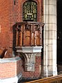 St Barnabas, St Barnabas Road, Walthamstow, London E17 - Pulpit - geograph.org.uk - 1704549.jpg