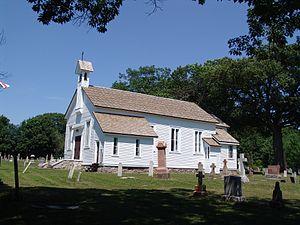 Penetanguishene - Built in 1836, St. James on-the-Lines is an historic Anglican garrison church in Penetanguishene.