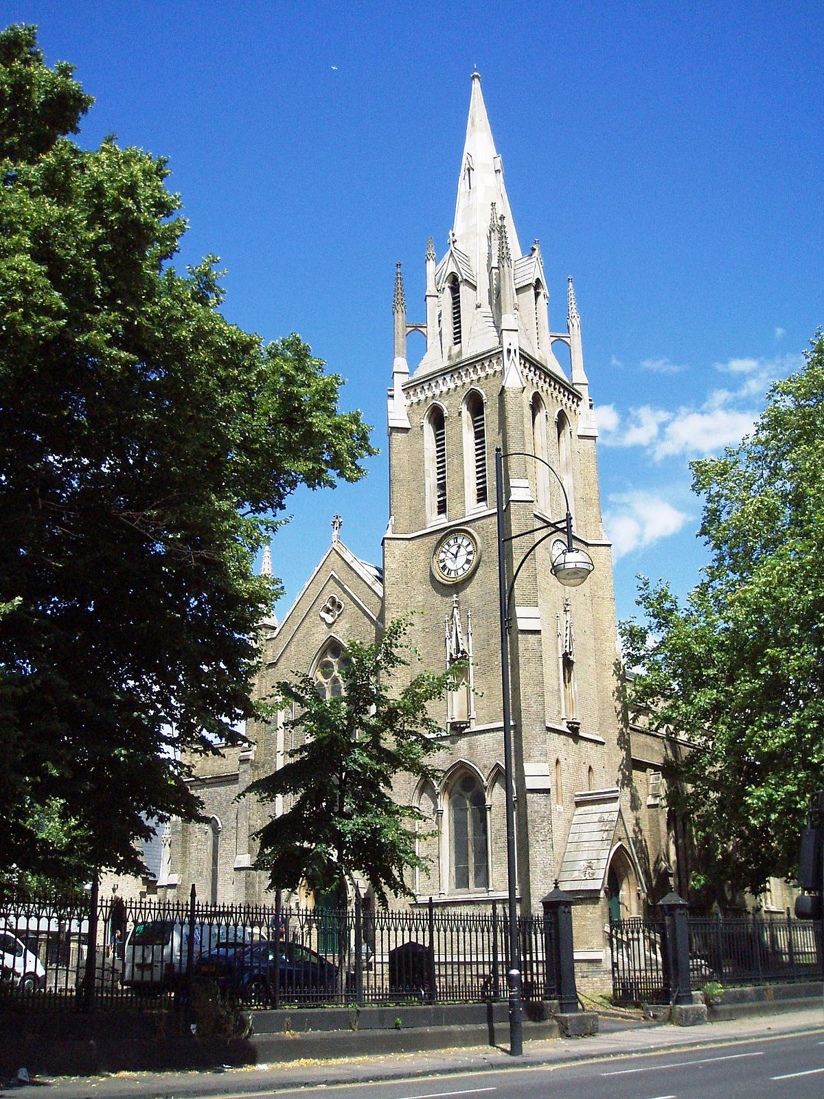 St john 39 s church stratford wikipedia for The stratford
