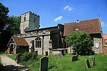 St Margaret's church Stradishall Suffolk (648521650).jpg