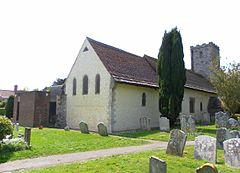 St Mary's Church, East Preston (NHLE Code 1027649).JPG