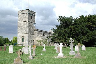Long Wittenham - Image: St Mary's Church, Long Wittenham, Oxfordshire from southwest