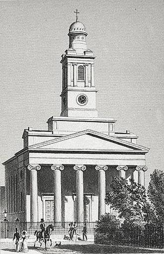 Belgravia - St Peter's, Eaton Square.
