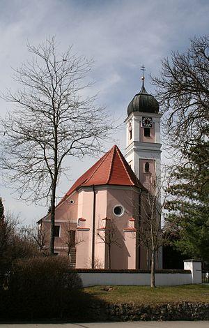 Hürben (Krumbach) - Image: St Ulrich Krumbach Huerben 2