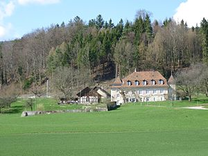 Langendorf, Switzerland - Staalenhof in Langendorf village