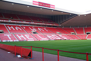 Stadium of Light - Image: Stadium of light Haway the lads