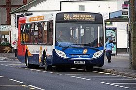 Stagecoach Chesterfield-buso 22650, MAN 18, Alexander Dennis Enviro 300 YN58 CFE.jpg