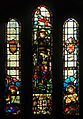 Stained glass in St Materiana's Church, Tintagel (5015).jpg