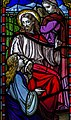 Stained glass window, St George's church, Brede (16042050260).jpg