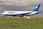 Star Air, Boeing 767-204(BDSF), OY-SRK - CDG (24584098613).jpg