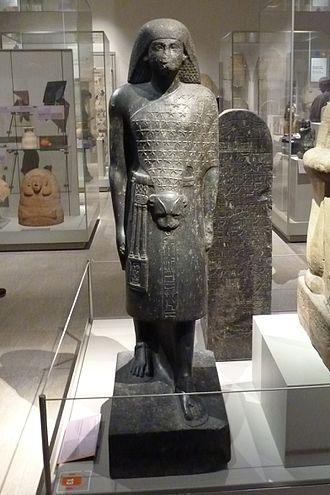 Second Prophet of Amun - Second Prophet of Amun Anen. Brother of Queen Tiye.