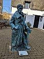 Statue at John Clare Cottage.jpg