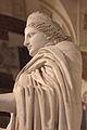Statue de Junon, Louvre, Ma 485, profil detail.JPG