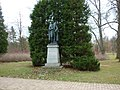 Statue of Francis I of Austria in Frantiskovy Lazne.jpg